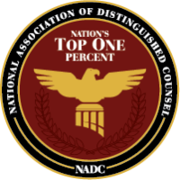 National Association of Distinguished Counsel Badge | Joyner and Joyner – Texas Law Firm