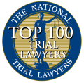 The National Trial Lawyers Top 100 Trial Lawyers Badge | Joyner and Joyner – Texas Law Firm